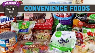 Convenience Foods for Easier Healthy Eating - Mind Over Munch Kickstart 2016