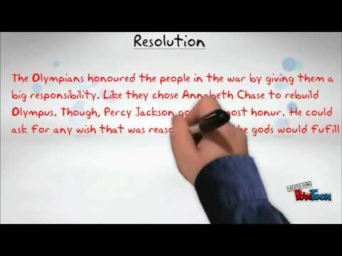 The Last Olympian Plot Project By Anubhav Dubey Youtube