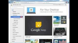 How to get chrome app launcher