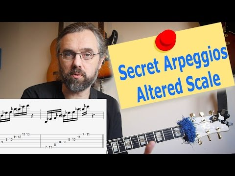 Altered Scale Arpeggios 🎸 that you forgot to learn!