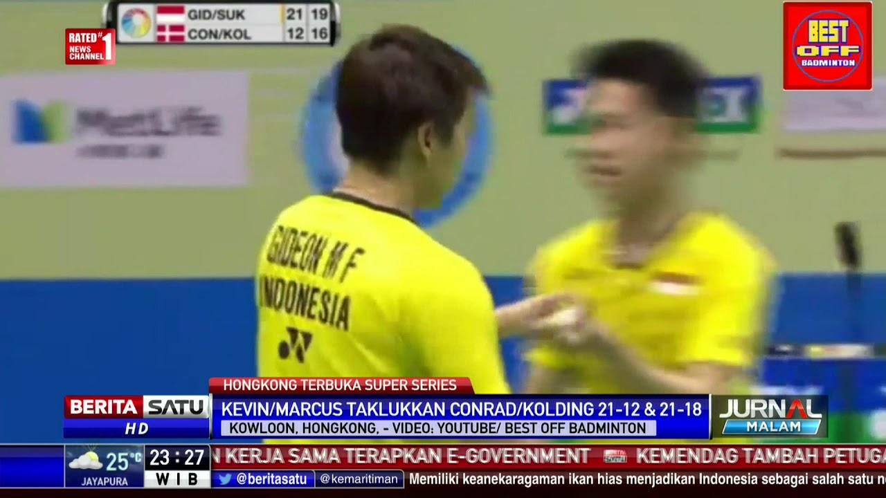 Download Kevin-Marcus Juara Hongkong Terbuka Super Series 2017