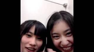 HKT48 安陪恭加 (撮影&投稿) 江藤彩也香.