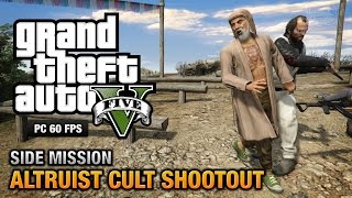 GTA 5 PC - Altruist Cult Shootout [Altruist Acolyte Achievement / Trophy]