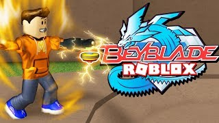 *MUST PLAY!* Epic New BEYBLADE GAME in Roblox! (Beyblade: Rebirth)