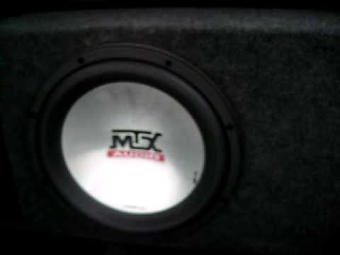 Как-то угодил мне в руки динамик mtx t6124, отец работал за рубежом и купил его всего за 4$. Но к сожалению он оказался перегоревшим. Вот он и.
