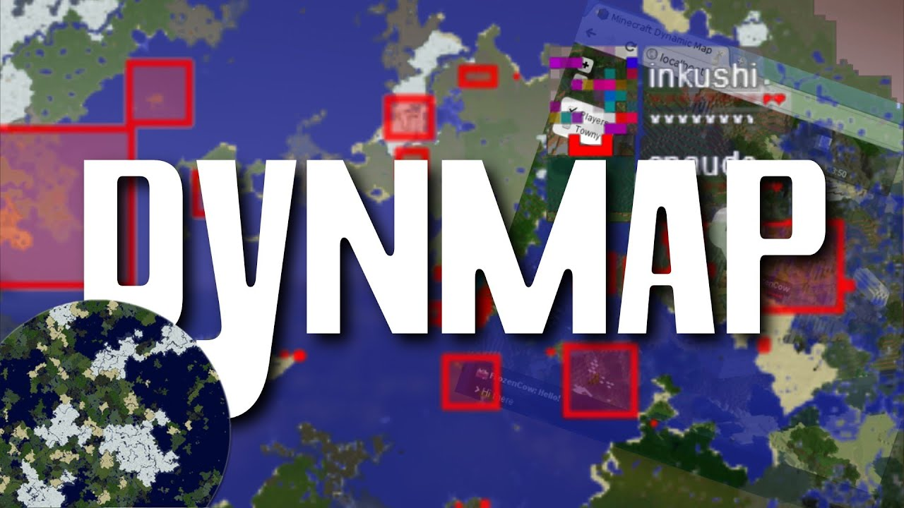 Dynmap Bukkit Plugin Minecraft Livemap Im Browser German HD - Minecraft server map erstellen