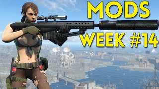 Fallout 4 Top 5 Mods Week #14 - Barrett .50 Cal, AR-15, Metal Gear Solid