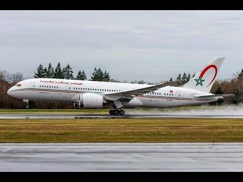 New York JFK (KJFK) to Casablanca Mohammed V Intl (GMMN) FSX Royal Air Morocco B787