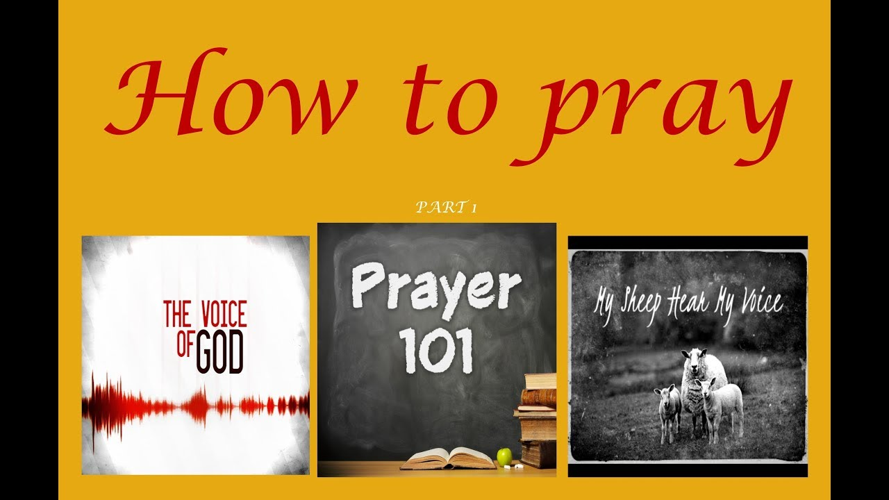 Israelites, praying 101 The voice of Yah