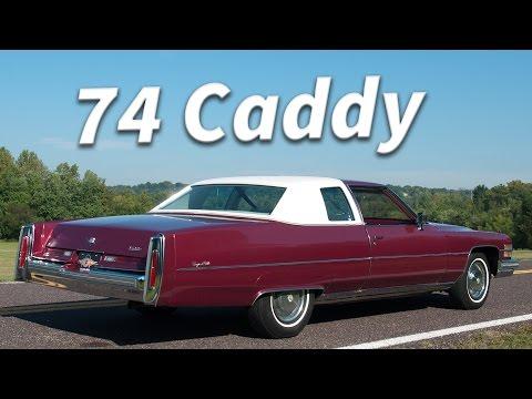 1974 Cadillac Coupe DeVille (12k original miles) || Full Tour & Start Up