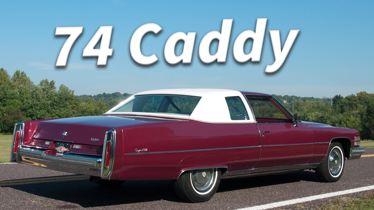 1974 Cadillac Coupe DeVille (12k original miles) || Full Tour ...
