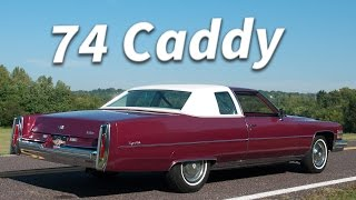 1974 Cadillac Coupe DeVille (12k original miles) || Full Tour & Start Up