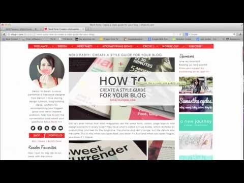 How to use the Firefox web developer tool