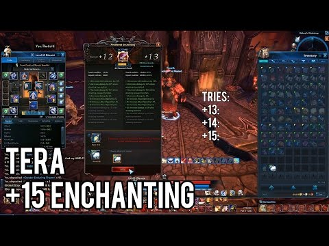 TERA: +15 Awakening Enchanting VM6 Weapon