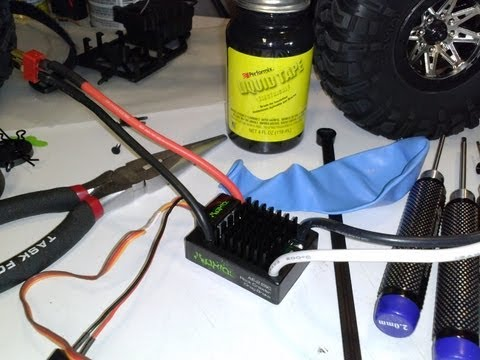 Waterproofing your ESC - using a balloon