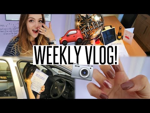 VLOG: I PASSED MY DRIVING TEST, GOT A NEW CAMERA & HIT 70K!!