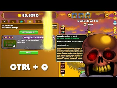 Clicker heroes game breaking morgulis bug glitch youtube