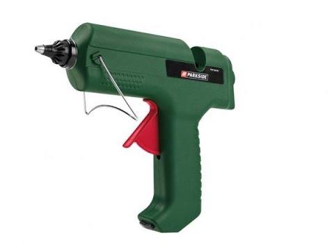 Pistola pegamento parkside unboxing youtube for Parkside pistola sparapunti elettrica