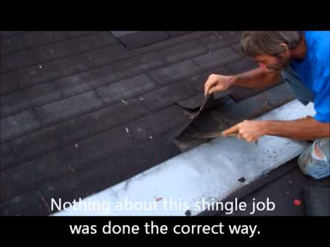 How To Stop Roof Leaks On A Low Sloped Roof Youtube
