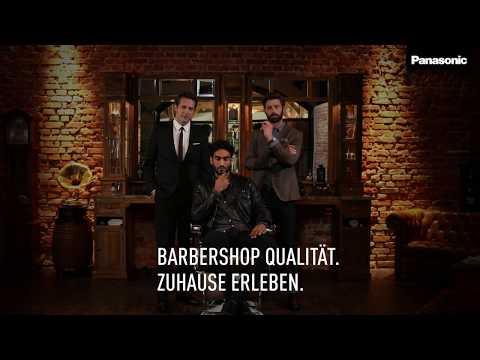 Japanische Klingentechnologie trifft auf Welt der Barbiere / Panasonic präsentiert mit neuer Barber Shop-Kampagne ab sofort das Sortiment der Männerpflege unter einem Dach