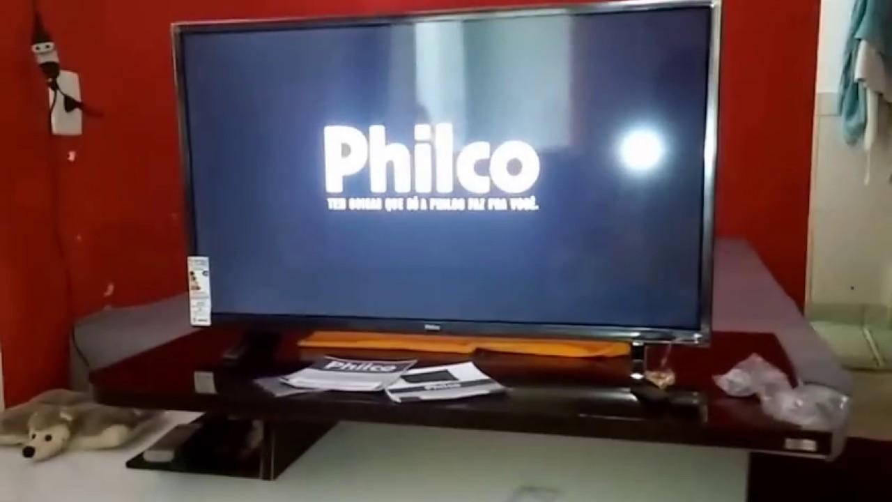 402d81c27bf unboxing tv philco 32 smart - YouTube