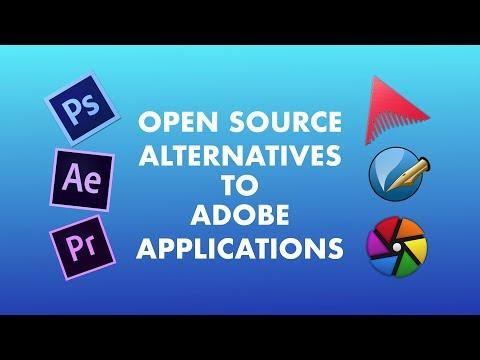 Free and Open Source Alternatives to Adobe Products in Linux