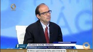 Ricardo Sucre Heredia: El Gobierno usa el atentado para atacar a la oposición (Parte 2)