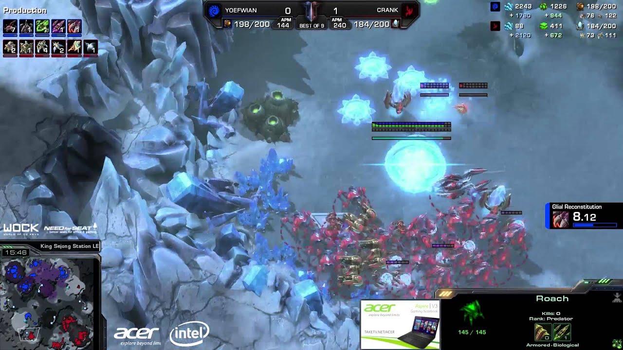 Crank vs. Ian (ATC) - Axiom vs. FlashWolves - Game 2 - StarCraft 2
