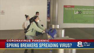 Did Florida's Spring Breakers Spread Coronavirus Across The State And Nation?