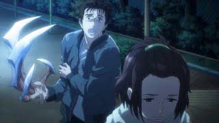 寄生獣 セイの格率: シンイチの秘密はゆっくりと明らかにされている - Shinichi's secret is slowly being revealed #寄生獣 セイの格率 #Parasyte 突然、彼らは到着しま ...