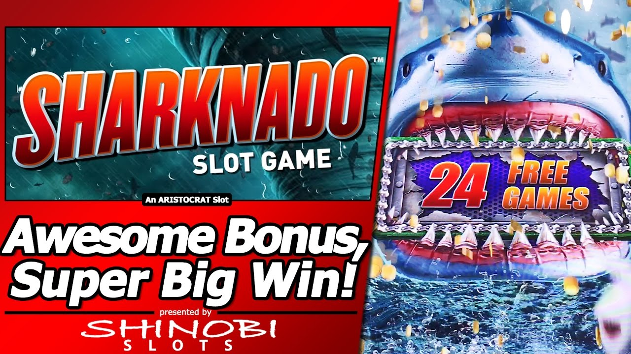 Sharknado slot machine bonus