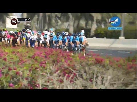 Cycling: Abu Dhabi Tour Stage 3 (Highlights + Last 20km)