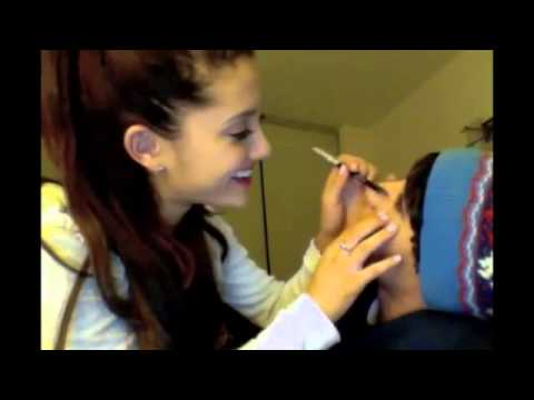 ARIANA DOES JAI'S MAKE-UP!!