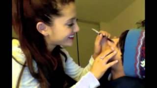 ariana-does-jai-s-make-up