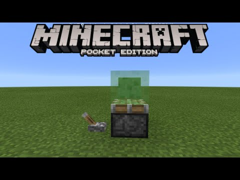 SLIME BLOCK LAUNCH PAD! - 0.15.0 Redstone Creation - Minecraft PE (Pocket Edition)