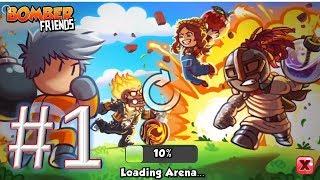 Bomber Friends Mutliplayer gameplay walkthrough 1 android & ios screenshot 1