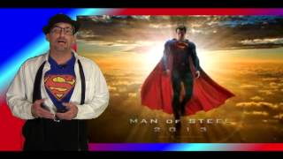 Man of Steel Teaser & Comic-Con Trailer Review - Thoughts & Opinions