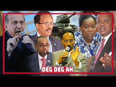 DEG DEG Dagaalkii Kenya & Somalia Oo Bilowday, Ciidanka Xoogga Oo Ceersadey, Uhuru Oo Iscazilaya, Gu