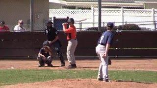 Thousand Oaks Little League - Juniors Division - Braves vs. Giants 4-2-2016