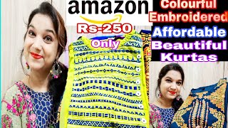 Cheapest Amazon Kurti Haul Online Shopping Haul Designer Affordable Kurti Haul