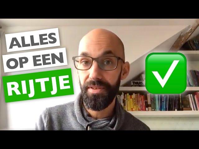 Het voordeel van een TO DO LIJSTJE (en de nadelen van teveel to do lijstjes!) |  ✅MentorMax.nl