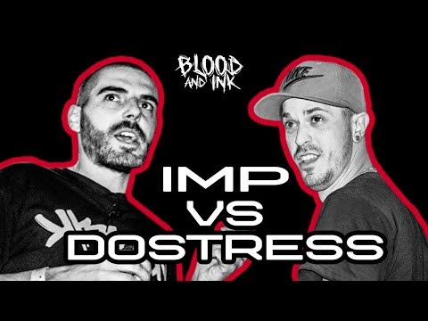 Blood and Ink - Rap Battle - IMP (ROOF RHYMEZ) vs DOSTRESS (082 CREW) | #ПърваКръв