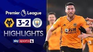Wolves spark comeback against 10-man City! | Wolves 3-2 Man City | Premier League Highlights