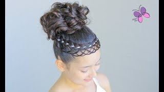 Updo with Crown | Elegant Hairstyles | Braided Hairstyles | ChikasChicEng
