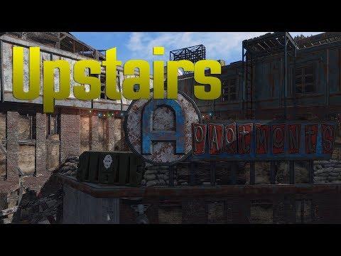 Upstairs - Fallout 4 Gunner Settlement