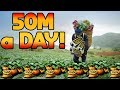 FARMING - 50 Mil a DAY for 20minutes of