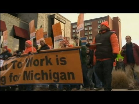 Michigan Protesters Storm State Capitol as