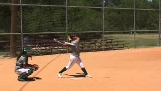 Ashley Briones - 2013 Summer Mechanics Workout