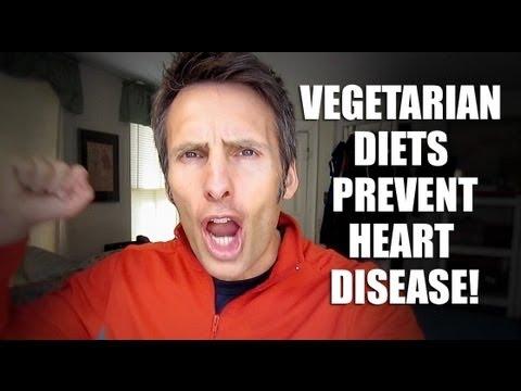 A Vegetarian Diet Slashes Heart Disease Risk - New Study