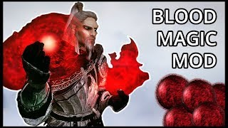 Blood Magic in Skyrim! New Spell Mod - Ace Blood Magic